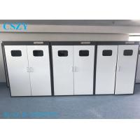 China 900X450X1800mm All Steel Lab Gas Cylinder Storage Cabinet for 2 Bottles on sale