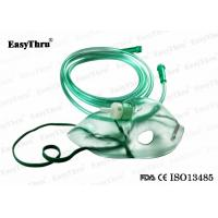 Best Full Face Pediatric Oxygen Mask Disposable , Medical Oxygen Mask With Nebulizer And Tube wholesale