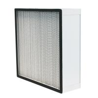 Best Aluminum Alloy Frame HEPA Air Filter Size 610 * 610 * 292mm Or Customized wholesale