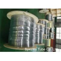 China TP316Ti  Stainless Steel Pipe Coil , Stainless Steel Cooling Coil Wst 1.4571 UNS S31635 on sale