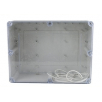 Best 263*182*125mm ABS Watertight Clear Lid Enclosures wholesale