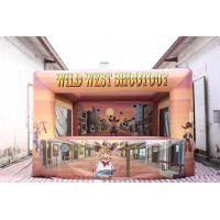 Best Commercial Inflatable Wild West Shootout Games wholesale