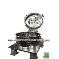 Cheap Model PPTD Batch Basket Centrifuge for Hemp Washing with Ethanol for sale