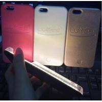 China 2016 Lumee LED Light Phone Cases For iPhone 6 6S 6Plus Selfie Back Cover Fill In Light on sale