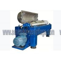Best Centrifugal Continuous Oil Extraction Machine Decanter Centrifuges wholesale