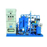 China Electrical Heater Vertical HFO Booster Unit With Integrate Oil Pump on sale