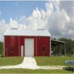 Best Mini Metal Farm Carport Shed (KXD-SSW205) Steel Storage Sheds wholesale