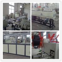 Best Pe Pipe Making Machine HDPE Pipe Extrusion Machine Using Double Pipe Mould wholesale