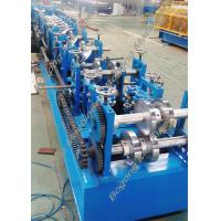 Best Custom Steel Frame Purlin Roll Forming Machine 18.5KW Driving Motor wholesale