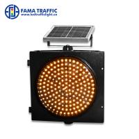 Best Warning Strobe Solar 300mm Traffic Light Environmentally - Friendly With PC Material Housing wholesale