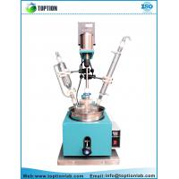 Buy cheap Chemical Glass Reactor Single Layer Glass Reactor Supplier Mini Glass Reactor product