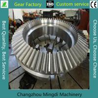 China Alloy Steel Bevel Gears Industrial Spur Gears CNC Milling Straight on sale