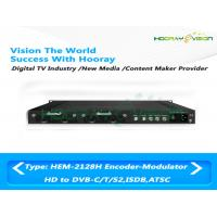 Buy cheap 8M Bandwidth Digital Video Encoder Modulator NMS Management With QAM Mode Support product