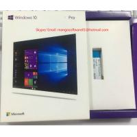 Best Activation Online Windows 10 Pro Retail Box , Win 10 Professional 32/64 Bit USB wholesale