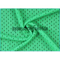 Best Green Waterproof Men Swimwear Fabric Warp Knitting Small Hole Mesh Fabric wholesale
