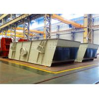 China Light Weight Stone Double Deck Vibrating Screen Two Layer For Metallurgy on sale