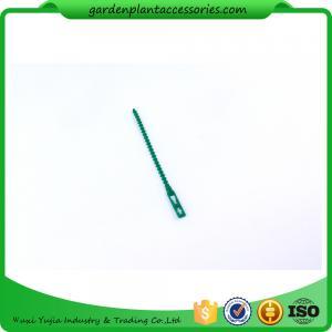 Best 13cm Climber Adjustable Plastic Garden Ties Green Color Hold Plants wholesale