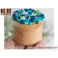 Best Most Popular Wholesale Price Mini Bamboo Wood Engagement wedding jewelry wooden ring box wholesale