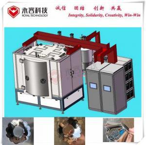 China Deposition Magnetron Sputtering Vacuum Coating Machine Metal Decoration on sale