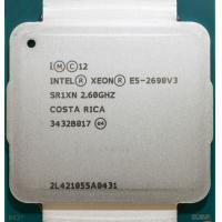 China Intel Xeon 2.8Ghz E5 - 2690 V3 / Intel Xeon E5 2600 v3 SR1XN 30MB L2 Cache on sale