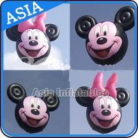 China Customized Helium Balloon Animal Shaped  , Cartoon Character Pink Pig Inflatable on sale