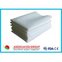 Best Hotel / Restaurant / Airline Disposable Dry Wipes Ultra Size With Soft Pearl Pattern wholesale
