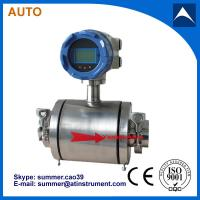 Best Electromagnetic Flow Meter for Food Processing With Reasonable price wholesale