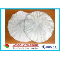 Best White Unscented Disposable Rinse Free Shampoo Cap Shampoo Condition Added wholesale