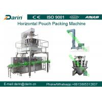 China Snack food Automatic Pouch Packing Machine , small sachet packing machine on sale