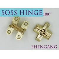 Best SOSS Mortise Mount Invisible Concealed Door Hinges With 4 Holes 2-3/4 Leaf Height 5/8 Leaf Width 23/32 wholesale