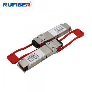 Best QSFP28 100G Er4 Single Mode Fiber Transceiver For Local Area Network wholesale