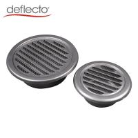 China Air Conditioner Parts 4''  6''  Stainless Steel Louver Round Floor Vent Hood on sale