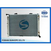 Best Cross Flow Brazing Aluminum Radiator BENZ 190D/W201'82-93 High Cooling Efficiency wholesale