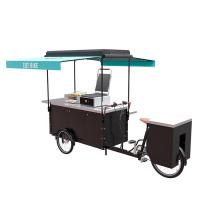 Best Steel Frame Bicycle Food Cart , Electric Hot Food Cart CE Certification wholesale