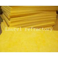 China Glass Wool Board Insulation Refractory 50mm x 1.2M x15M with Aluminium Foil on sale