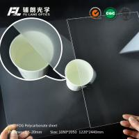 Best Anti Fog Scratch Resistant Acrylic Sheet , Acrylic Polycarbonate Sheets wholesale