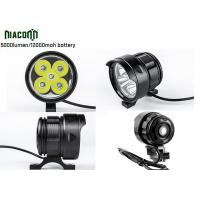 Best 12000mah Rechargeable Cycle Led Light , 50W Bike Front Led Light wholesale
