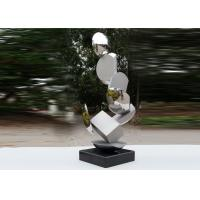 Best Modern Stainless Steel Sculpture Highly Polished For Pool Decoration wholesale