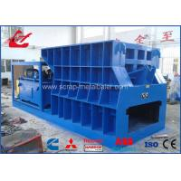 Buy cheap Automatic Scrap Metal Shear Box Mouth Cutting Machine 1400 Blade Length 10 Ton from wholesalers