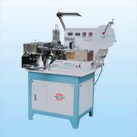 China Numerical Count Ultrasonic Printed Label Ribbon Cutter Machine Digital Control System on sale