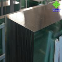 China Flat Toughened Safety Glass 6mm Tempered Glass Panels With High Bending Resistance on sale