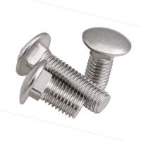 China Custom Shape 10.9 Grade Bolt , Din 603 Carriage Bolt Corrosion Resistance on sale
