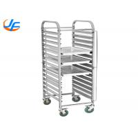Best Bakery Equipment Cake Baking Tray Trolley Food Trolley With Pan Stainless Steel wholesale