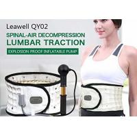 Best Inflated Decompression Back Belt Manual Pump Inflate Long Lifespan Lightweight wholesale