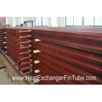 Buy cheap A192 SMLS Carbon Steel H Fin Bolier Square Fin Tube of  Waste Heat Recovery Unit product