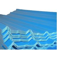 Best Color Coated Steel Sheets / Tile, Waved Type Corrugated Roofing Sheet / Plate JIS3302 wholesale