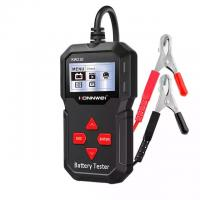 China LCD Screen Auto Digital Battery Tester 12V With Printer For Gas Diesel Hybrid Electric Car on sale