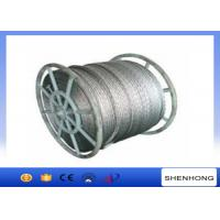 China 18 Strands Anti Twist Wire Rope / Galvanized Steel Wire Rope 252kN 20mm Diameter on sale