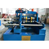 Electric Cables Bridge Frames Cold Roll Forming Equipment 3T Hydraulic Decoiler
