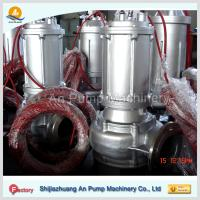 China electric motor driven centrifugal sewage pump on sale